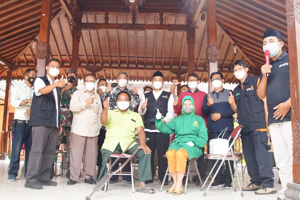 MCCC Vaksinasi Masyarakat Penyandang Disabilitas di Bantul